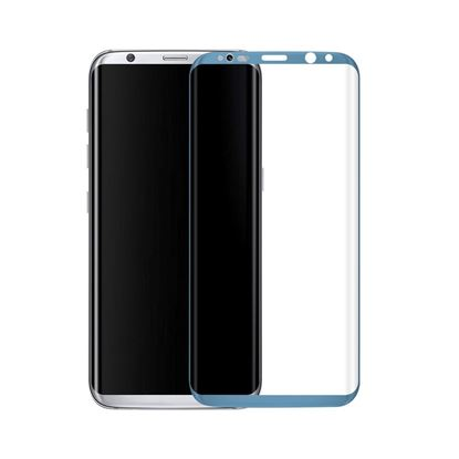 Picture of Copy of 3D Curved Edge Full Coverage 9H Hardness Tempered Glass Screen Protector for Samsung Galaxy S8 Plus, Ultra Clear, Easy to Install, Drop/Scratch Proof, Bubble Free - Blue Coral